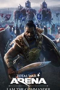 1242x2688 Total War Arena I Am The Commander 5k