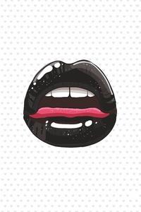 Tounge Lips Minimalist 5k