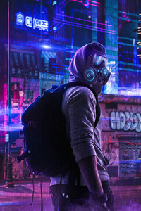 Toxic Mask Boy 4k
