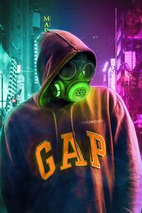 1080x1920 Toxic Mask Hoodie Guy 4k