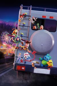 1242x2688 Toy Story 4 5k