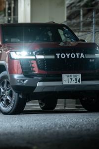 320x480 Toyota Land Cruiser GR Sport 8k