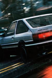 1125x2436 Toyotya Ae86 Drift
