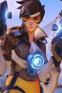 720x1280 Tracer In Overwatch Game