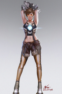 Tracer Overwatch Arts 4k