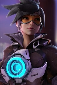 240x320 Tracer Overwatch Game