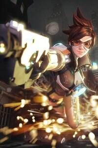 720x1280 Tracer Overwatch HD