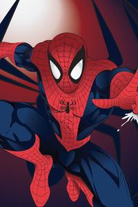 1080x1920 Tracing Spider Man