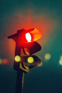 1242x2688 Traffic Red Light