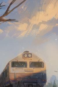 480x854 Train Departure