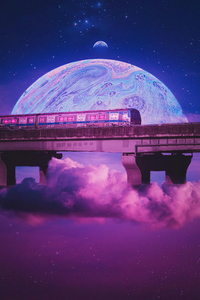Train Of Outrun World