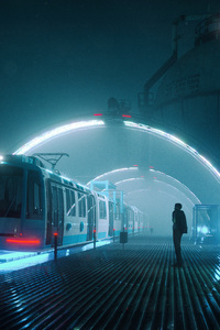 360x640 Train Platform