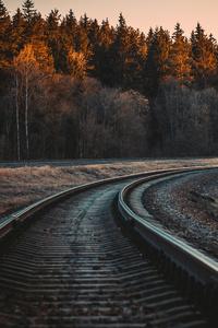 540x960 Train Rail 5k