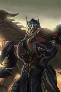 720x1280 Transformers Artwork Hd