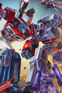 1440x2560 Transformers Earth Wars