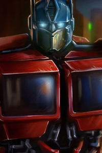 240x400 Transformers Optimus Prime 4k