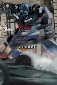 1440x2560 Transformers Optimus Prime 8k