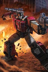 240x400 Transformers Sideswipe 4k