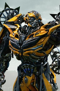 480x800 Transformers The Last Knight 4k Bumblebbe