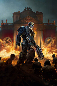 480x800 Transformers The Last Knight Bumblebee Against The Nazis