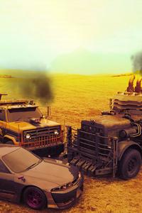 1125x2436 Transformers X Mad Max Fury Road