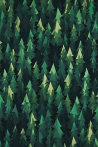 720x1280 Trees Minimalism