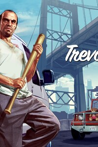 720x1280 Trevor Character From Gta 5