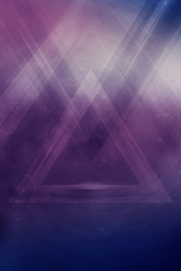 Triangle Abstract Art Hd