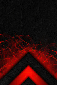 Triangle Flame Abstract 4k