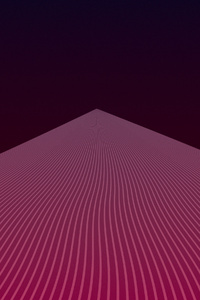 240x320 Triangle Inkscape Minimal Gradient 4k