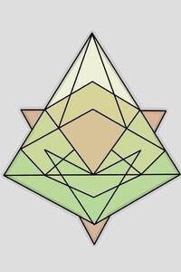 1242x2688 Triangle Minimalism