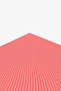 240x320 Triangle Pyramid Red Lines 8k