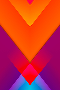 480x854 Triangle To Left Abstract 8k