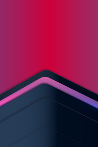 1080x2280 Triangle Up Abstract 4k