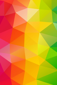 360x640 Triangles Colorful Background