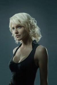 1242x2688 Tricia Helfer Actress