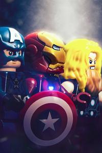 2160x3840 Trinity Avengers