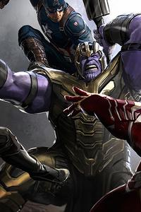 Trinity Vs Thanos