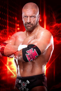 640x1136 Triple H WWE 2K19