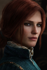 320x480 Triss Merigold Witcher 3 Cosplay 4k