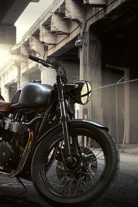 640x1136 Triumph Bonneville