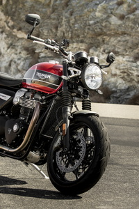 2160x3840 Triumph Speed Twin 2019