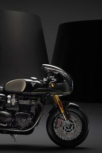 2160x3840 Triumph Thruxton