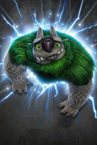 Trollhunters Argh Poster