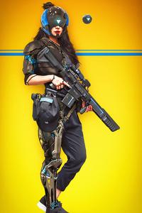 Turbo Haze Scifi Girl 4k