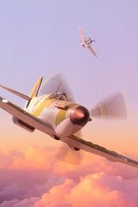 800x1280 Turboprop Planes 4k