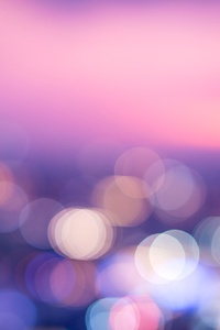 Twilight Abstract Blur