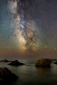 Twilight Star Sky Beach