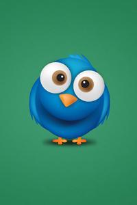 640x1136 Twitter Bird 4k