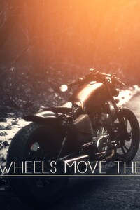 750x1334 Two Wheels Moves The Soul